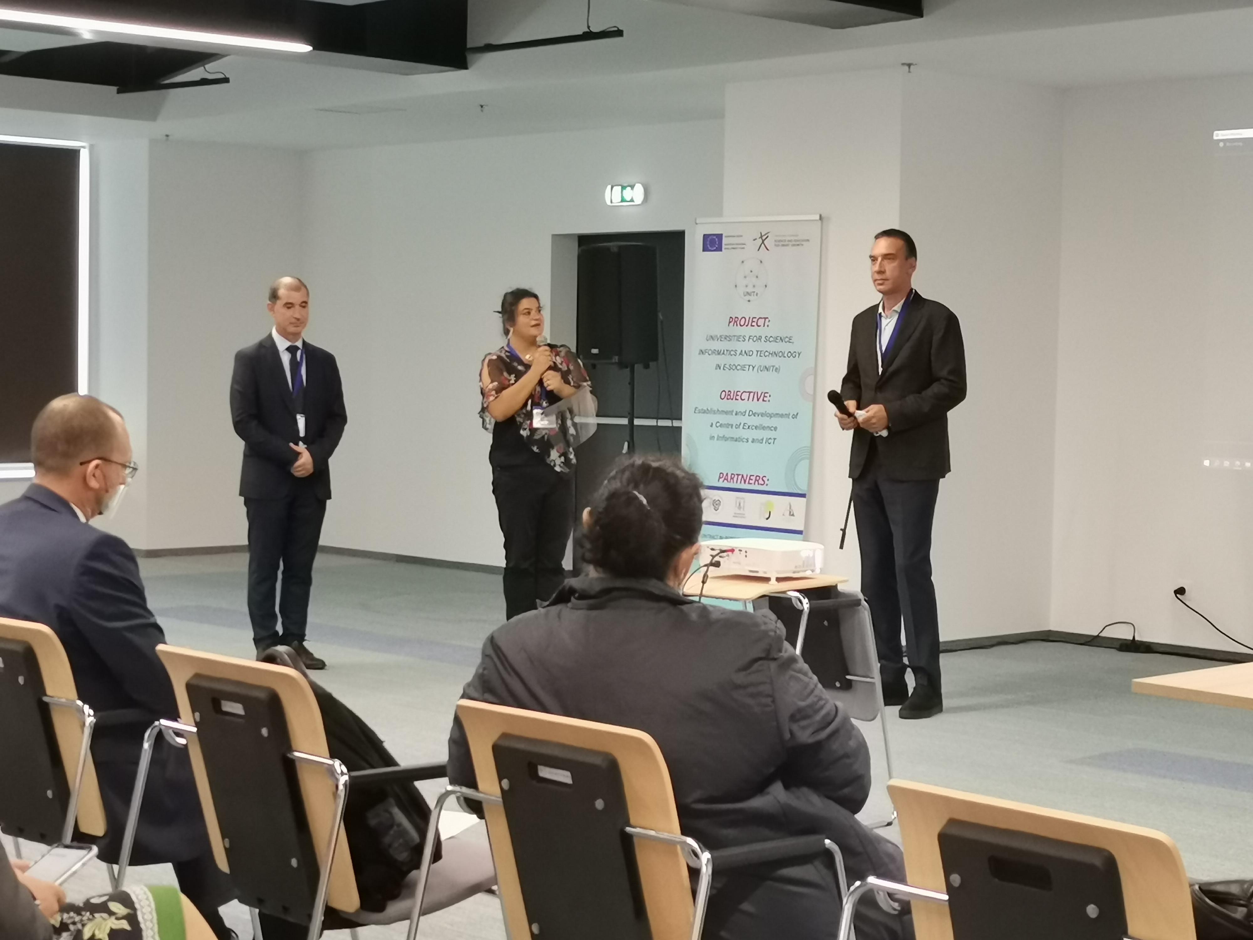 Откриване на BioInfoMed'2020, 8 октомври 2020